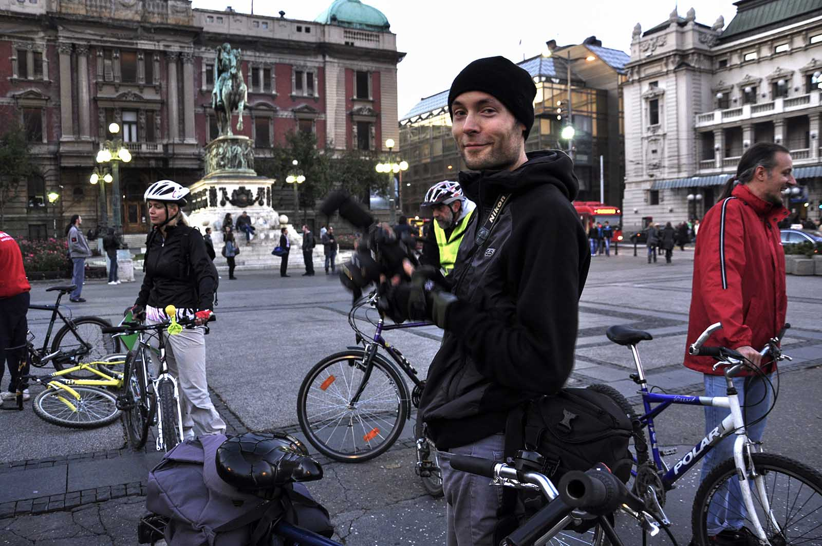 critical mass Belgrade