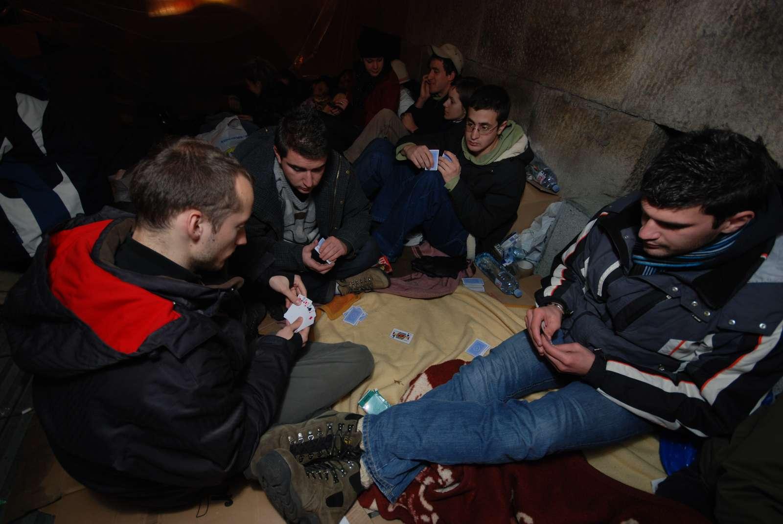 Hunger strike, Belgrade