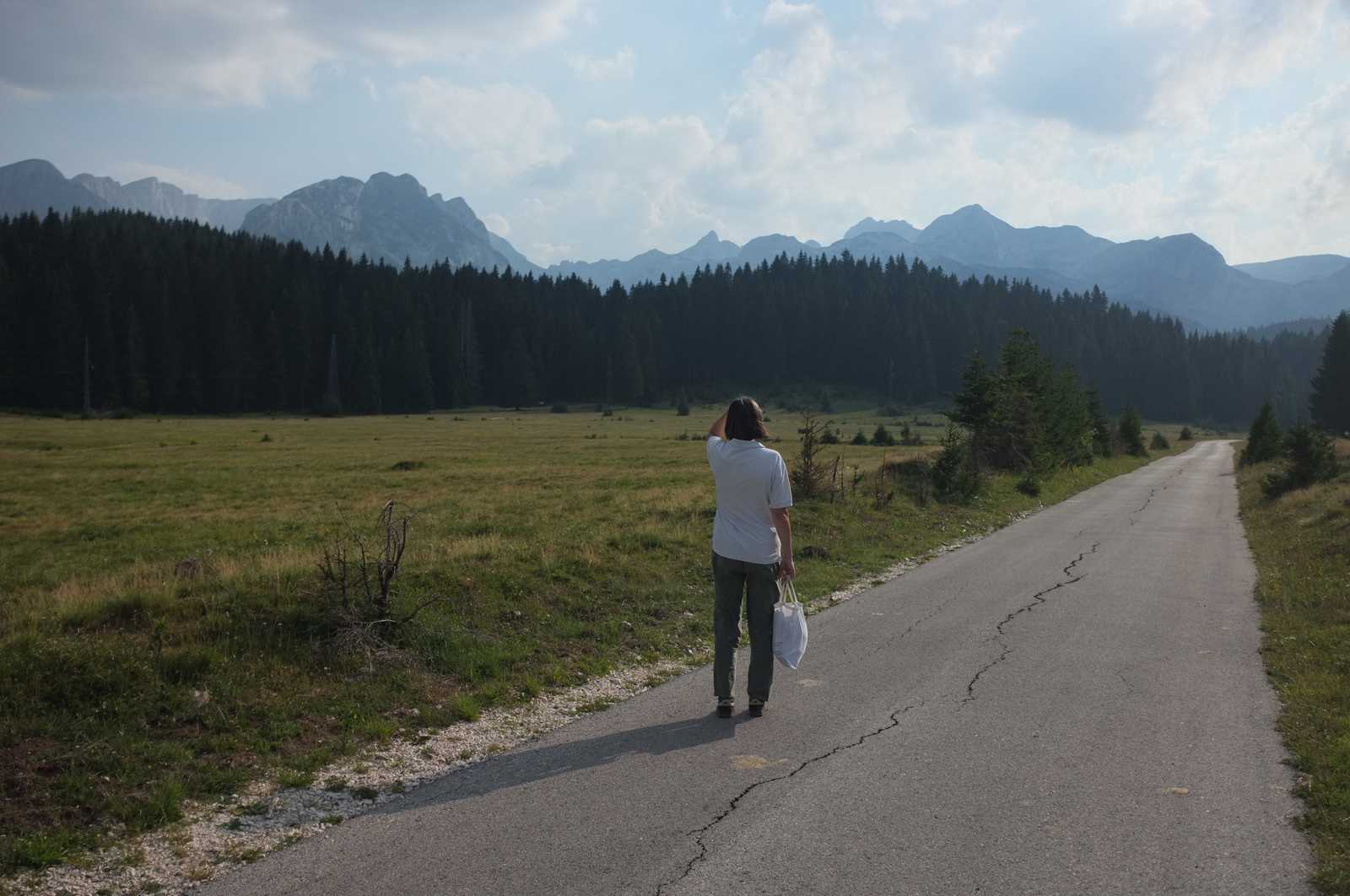 my mom's goodbye to Durmitor
