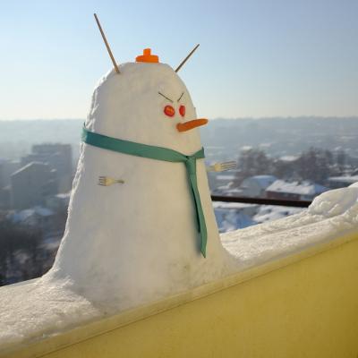 The snowman's sin