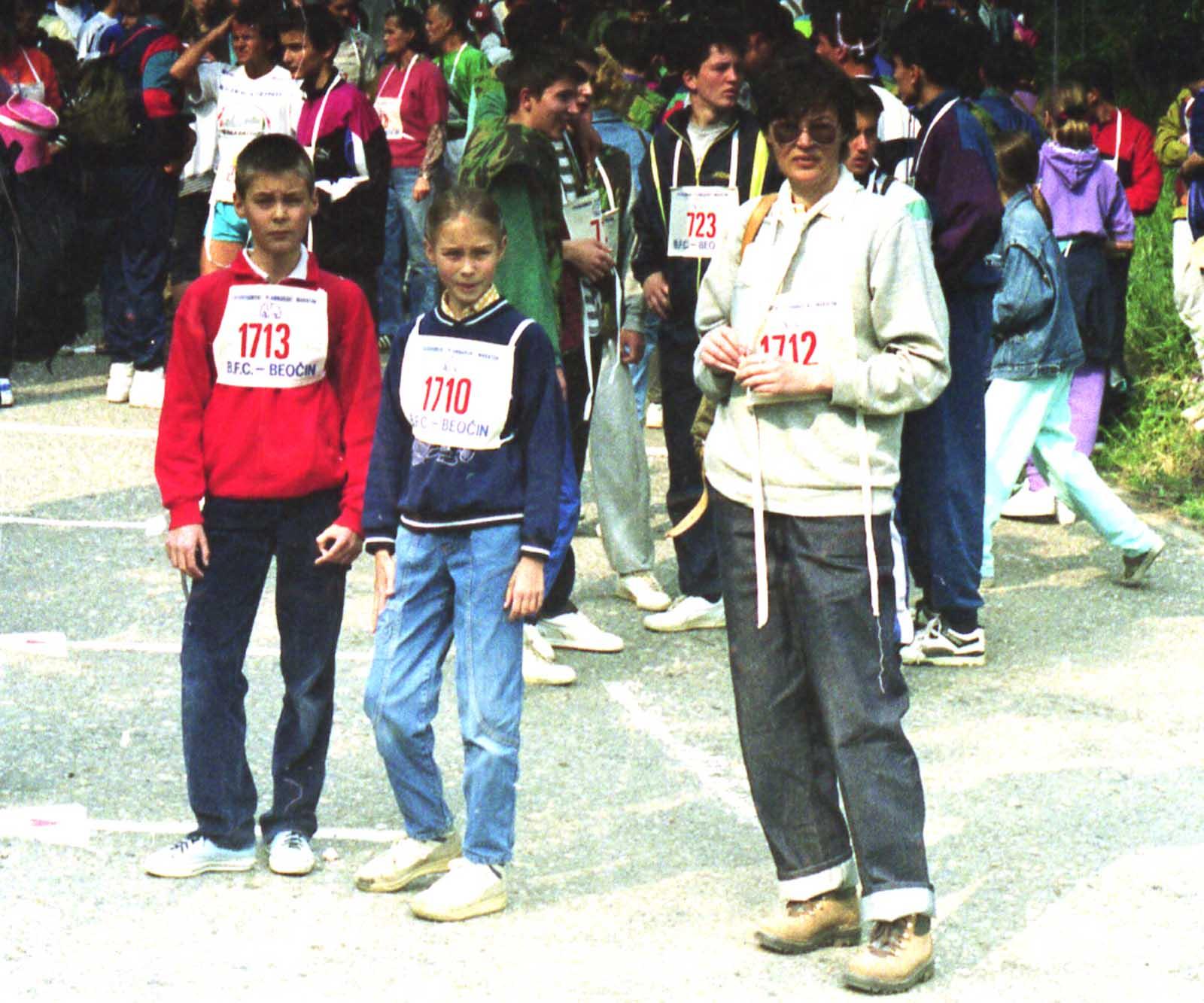 Fruška Gora marathon, 1992.